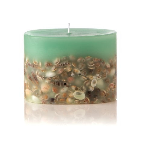 Sea Glass Petite Botanical Candle