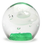 "2"" Lime Glow Bubble Paper Weight"