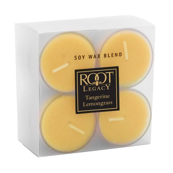 Root Candle Tealights - Tangerine Lemongrass