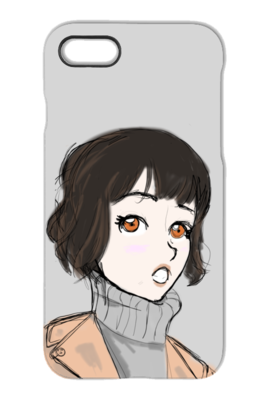 Love at First Sight - iPhone and Galaxy Case - DrawnByB