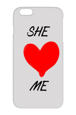 She Hates Me iPhone Case - DrawnByB