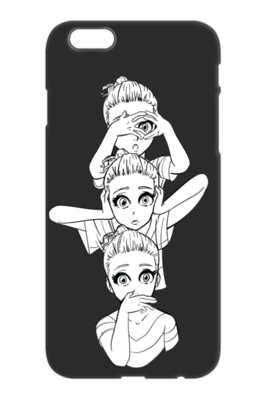 See No Evil, Hear No Evil, Speak No Evil iPhone Case