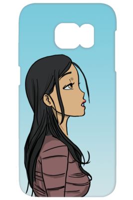 Gaze - iPhone & Galaxy S Case - DrawnByB