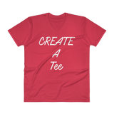 Create Your Own Tee - Men's V-Neck - DrawnByB