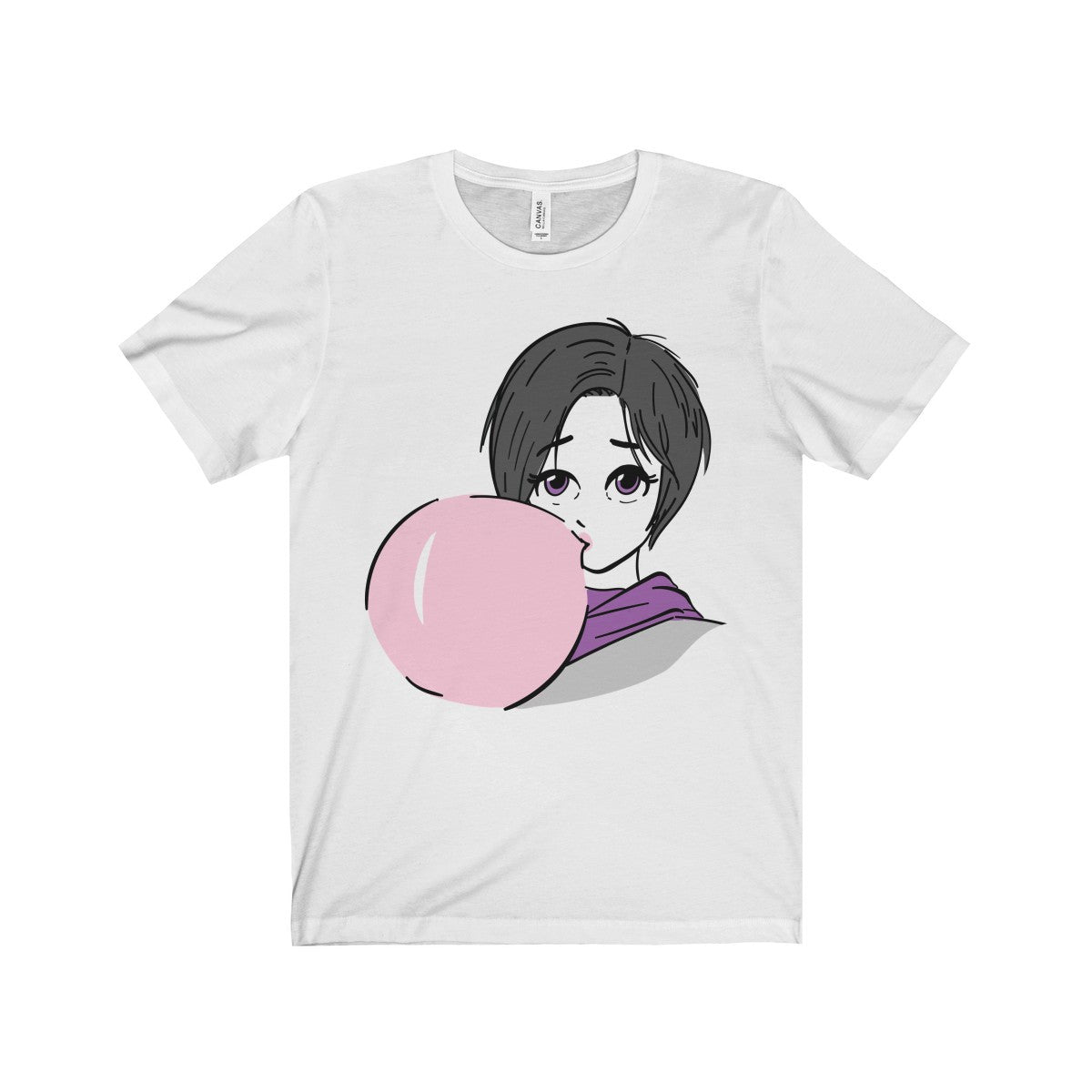 BubbleGum Girl Men's Short Sleeve Tee