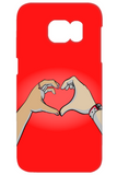 1 + 1 - Red - iPhone and Galaxy Case - DrawnByB