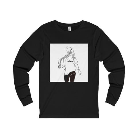 Walk Away Box Tee Long Sleeve Crewneck