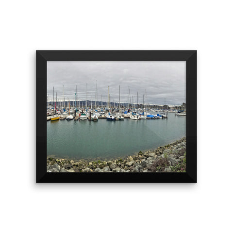 Framed photo paper poster - DrawnByB