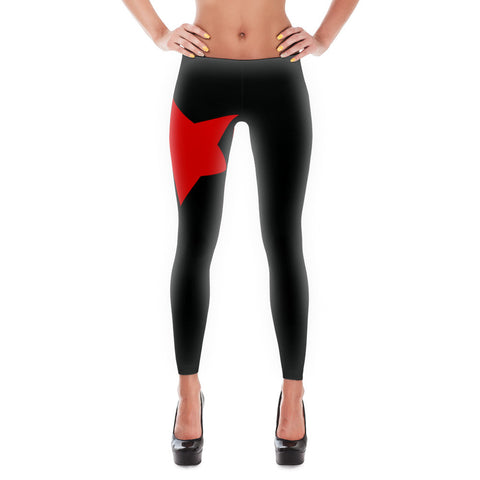 Rising Star - Leggings - Black - DrawnByB