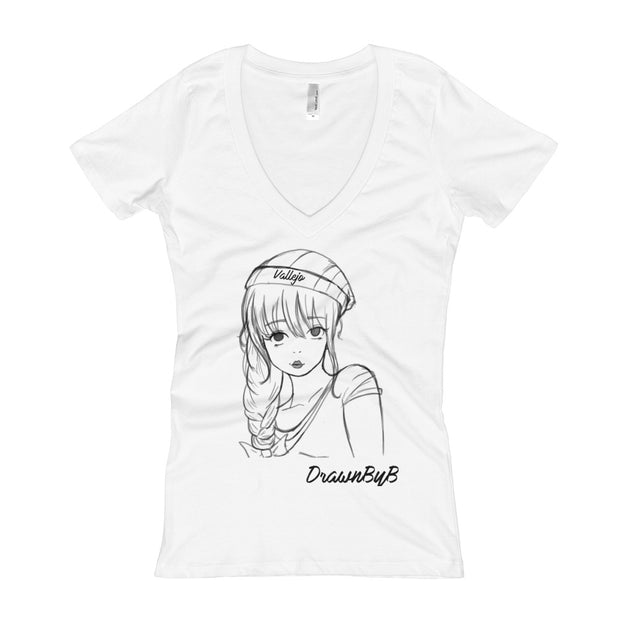 Vallejo - Women's V-Neck T-shirt