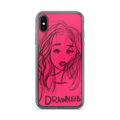 Red Love iPhone 6 - iPhone X  Case