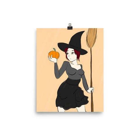 Wicked Witch - Poster - DrawnByB
