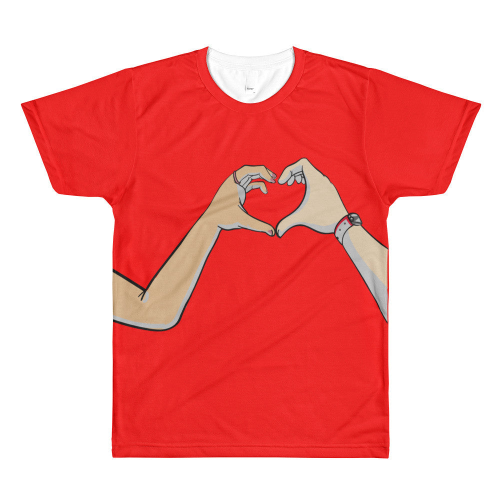 Love Men's crewneck t-shirt