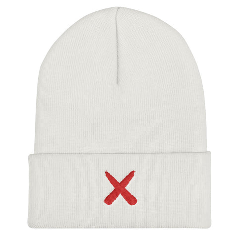 Drawn X Cuffed Beanie