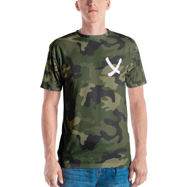 The X and Camo Men's V-neck