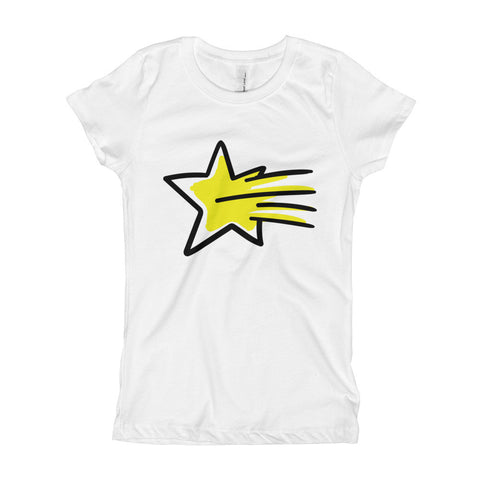 Shooting Stars Girl's T-Shirt - DrawnByB