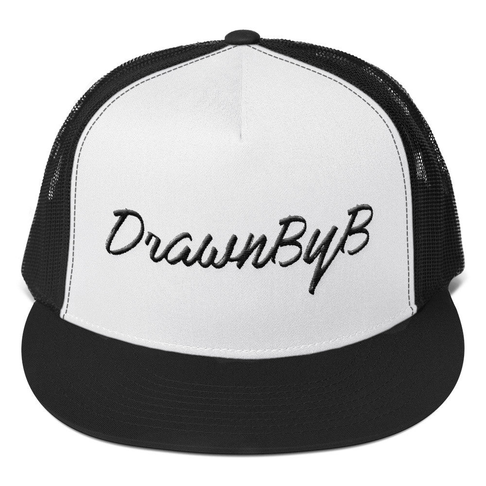 DrawnByB Trucker Cap