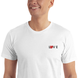 Splattered Love Embroidered T-Shirt