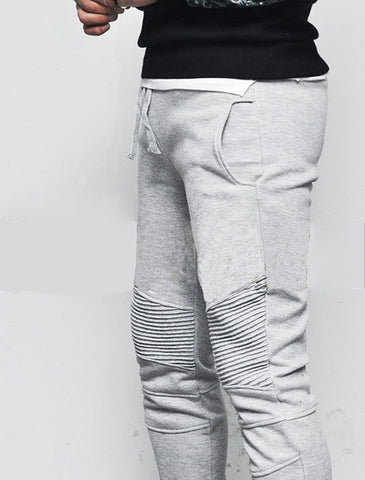 Men's Casual Leisure pants Stylish slim fit joggers pants men