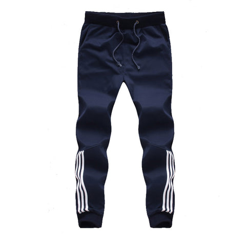 Tracksuit Bottoms Mens Pants Cotton Sweatpants Mens Joggers Striped Pants Gyms Clothing Plus Size