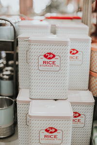 Rice Storage Tin - The Pioneer Woman Mercantile