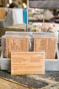 Wooden Recipe Cards