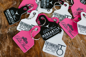 Black Mercantile Keychain