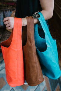 Dark Turquoise Molly Slouchy Hobo Handbag
