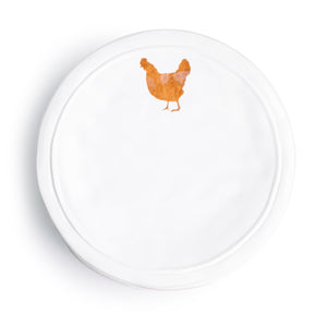 Ceramic Chicken Plate - The Pioneer Woman Mercantile