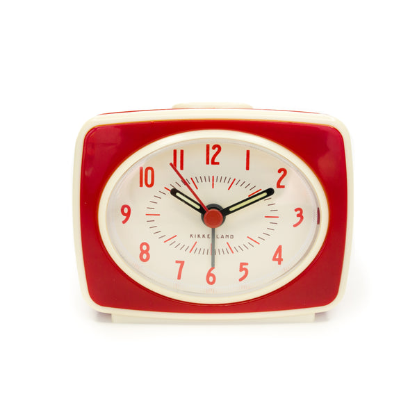 Red Classic Alarm Clock - The Pioneer Woman Mercantile