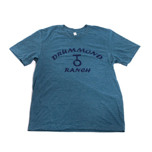 Steel Blue Drummond Ranch Shirt