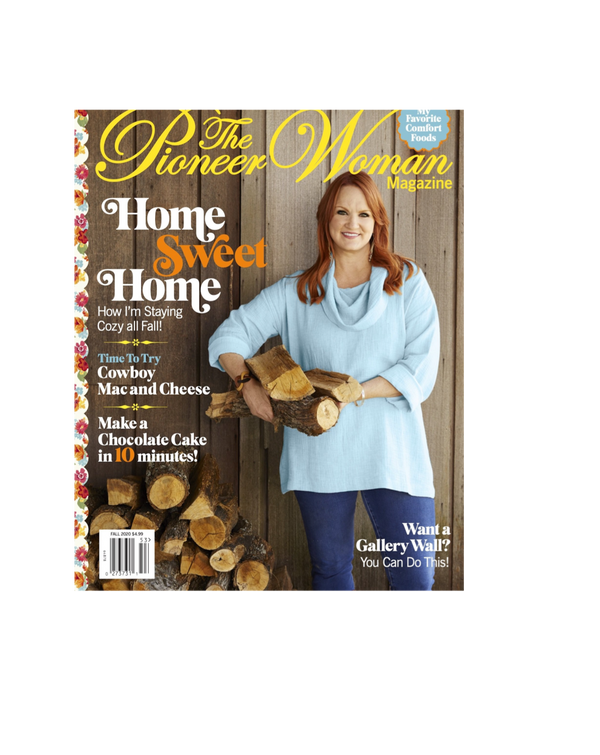 Fall 2020 Pioneer Woman Magazine