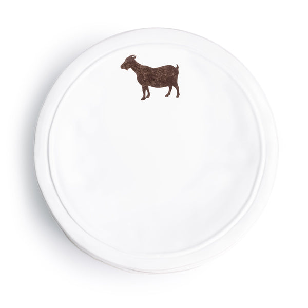 Ceramic Goat Plate - The Pioneer Woman Mercantile