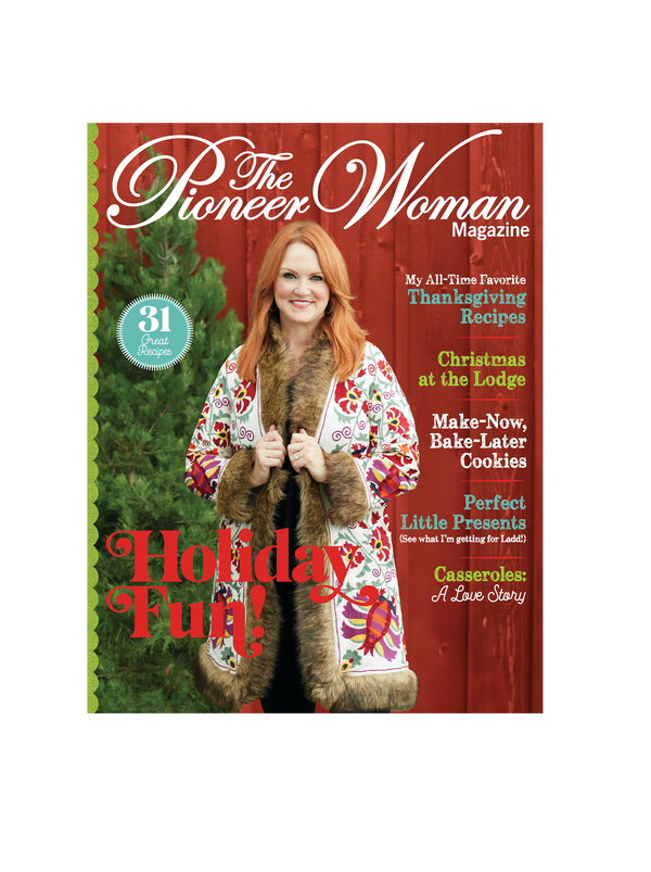 Holiday 2020 Pioneer Woman Magazine