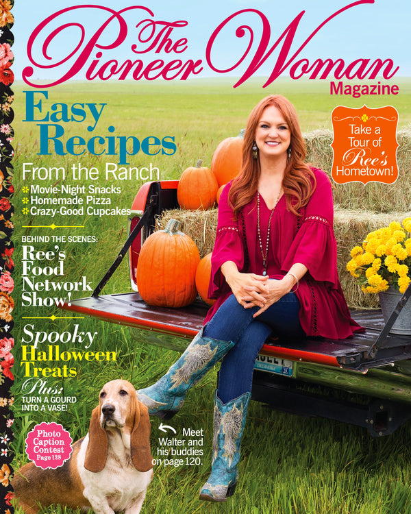 The Pioneer Woman Magazine Fall 2018 Edition