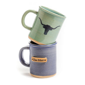 "Steerhead Hand Stamped ""The Merc"" Mug"