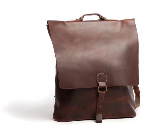 Espresso Leather Backpack - The Pioneer Woman Mercantile