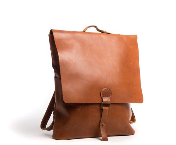 Whiskey Leather Backpack - The Pioneer Woman Mercantile