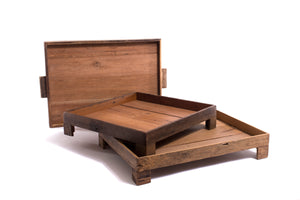 Rectangular Reclaimed Wood Tray - The Pioneer Woman Mercantile