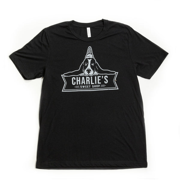 Black Charlie's Sweet Shop Tee