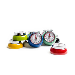 Retro Magnetic Kitchen Timers