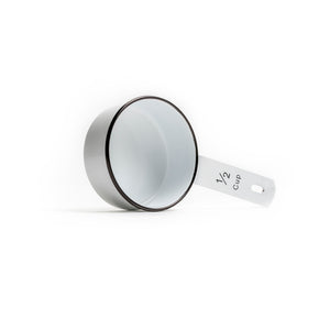 White & Black Enamel Measuring Set