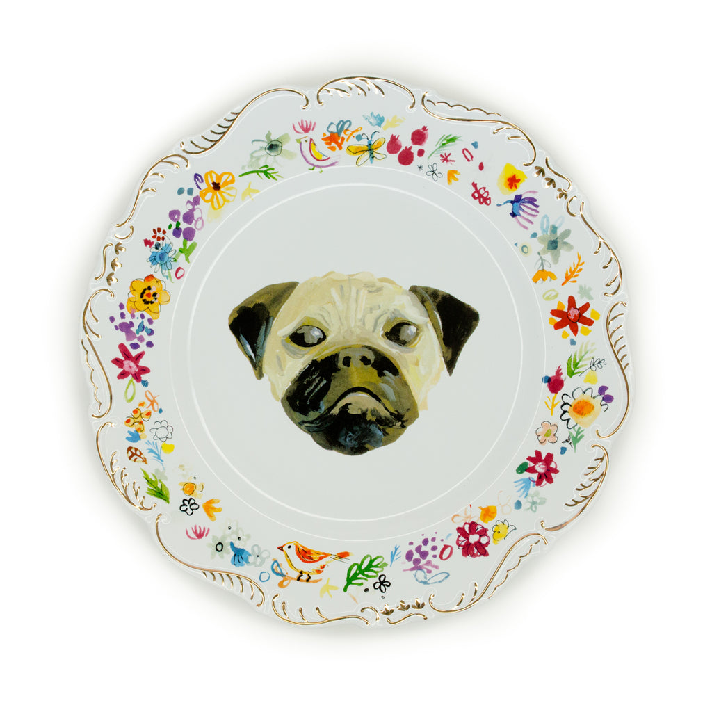 Floral Dog Plates The Pioneer Woman Mercantile