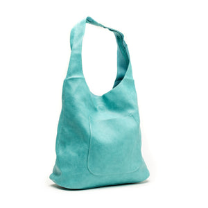 Aqua Molly Slouchy Hobo Handbag - The Pioneer Woman Mercantile