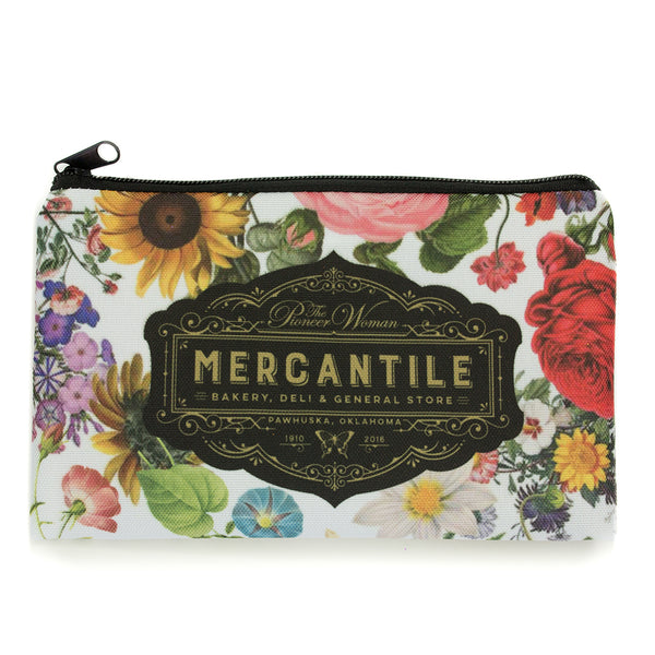 Mercantile Zipper Pouch - The Pioneer Woman Mercantile