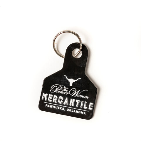 Black Mercantile Keychain - The Pioneer Woman Mercantile