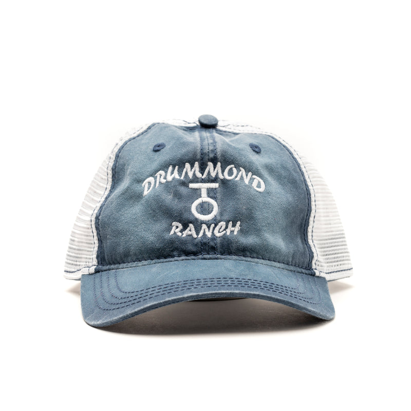 Blue Drummond Ranch Trucker Hat - The Pioneer Woman Mercantile