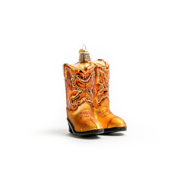 Brown Pair of Cowboy Boots