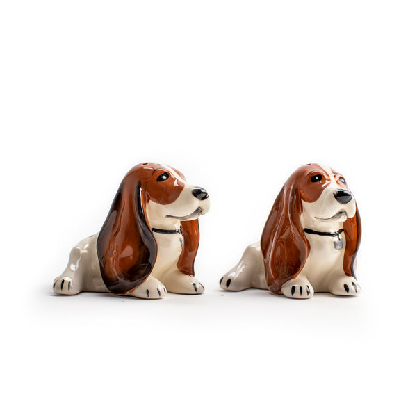 Basset Salt & Pepper Shakers