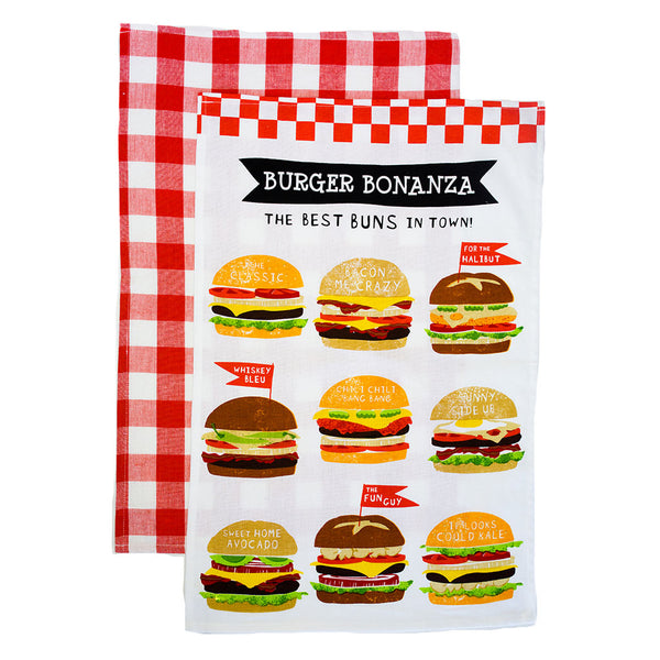 Burger Bonanza Dishtowel Set - The Pioneer Woman Mercantile